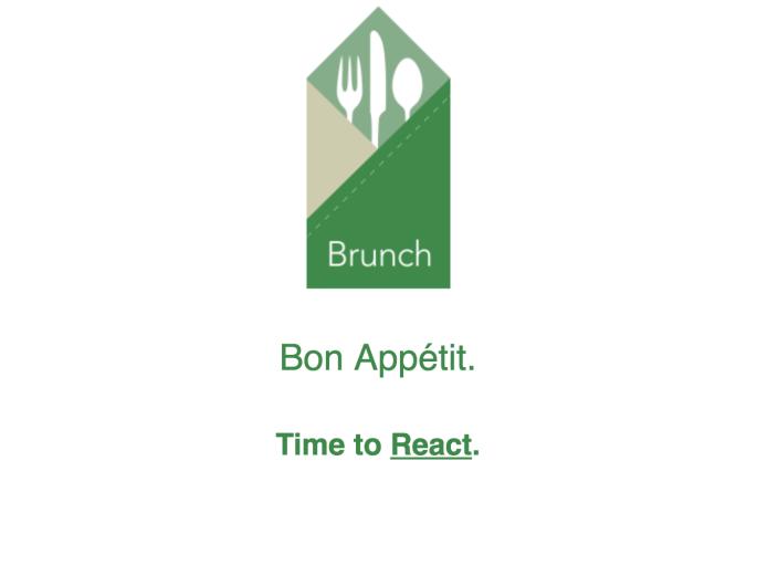 Brunch React Skeleton